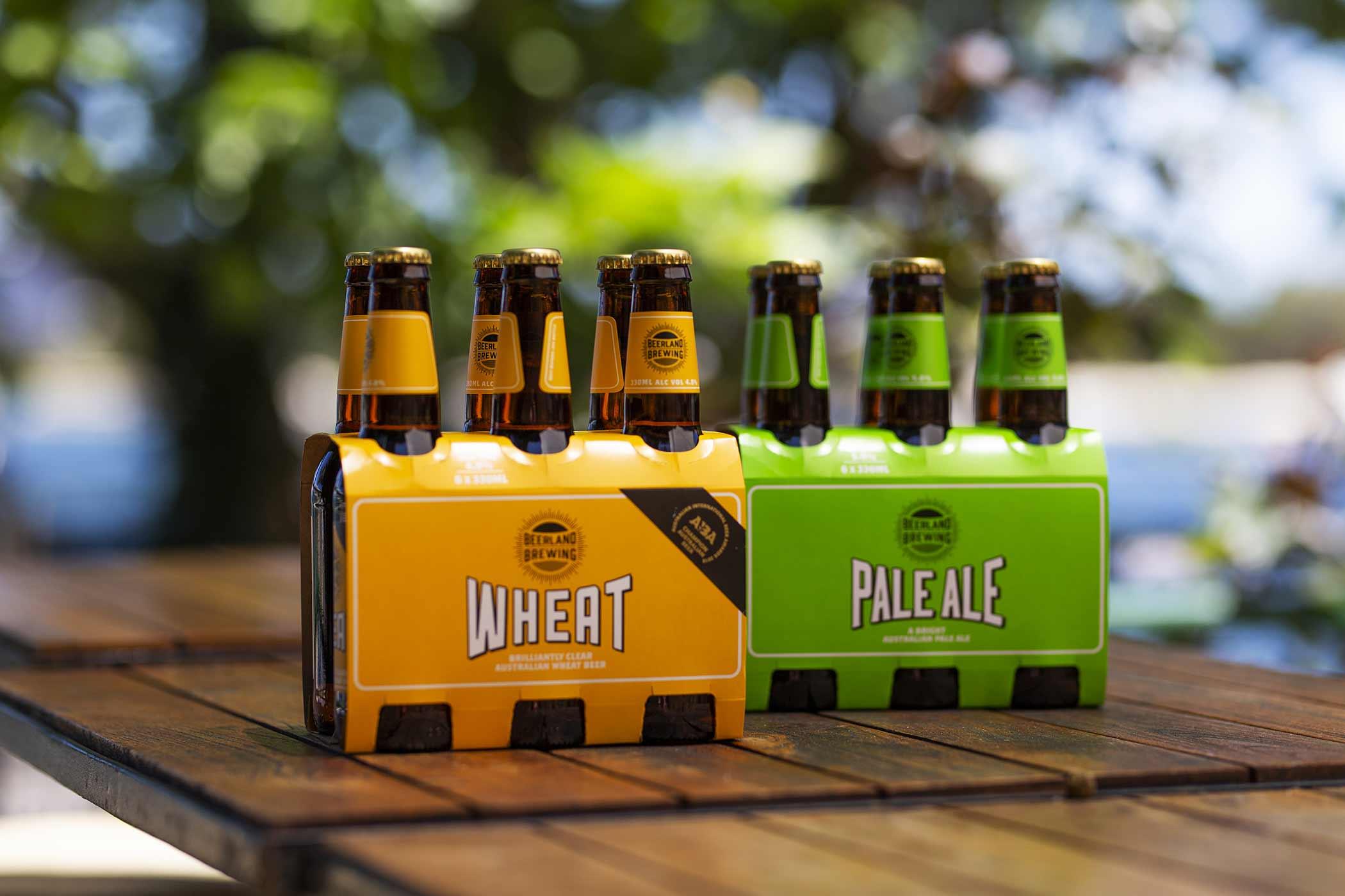 Beerland Brewing Beers