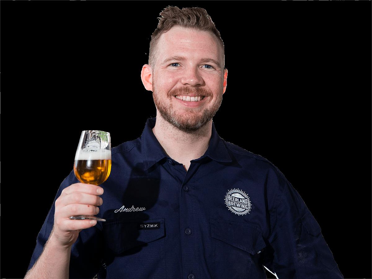 Beerland Brewing Brewer - Andrew Dean