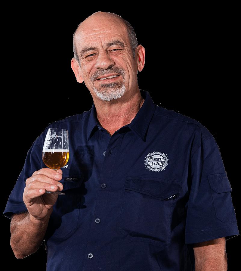 Beerland Brewing Head Brewer - Ken Arrowsmith